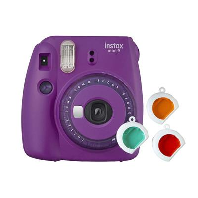 Appareil photo FUJIFILM Instax mini 9 (Bleu/purple