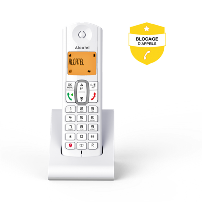 telephone sans fil rF670 VOICE BLANC ALCATEL
